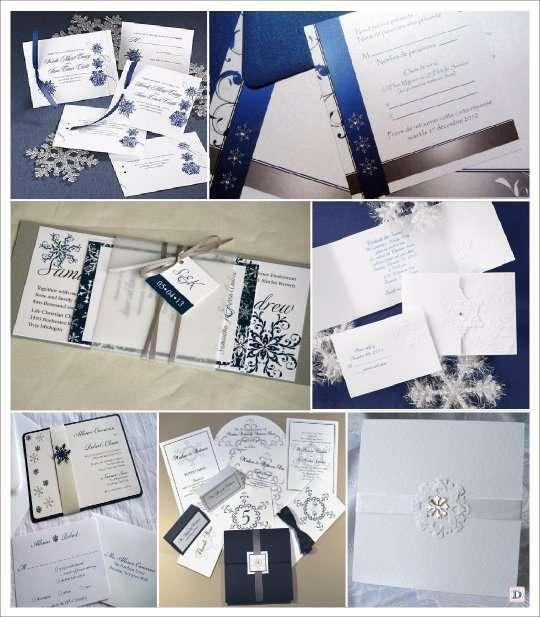 Célèbre deco mariage theme hiver idees ZN29