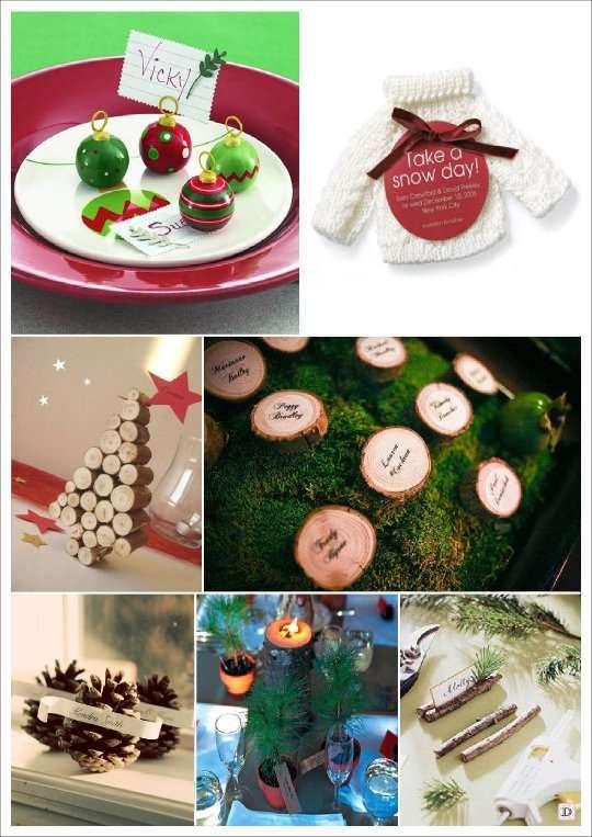 Deco mariage theme hiver idees - Sapin de noel en rondin ...