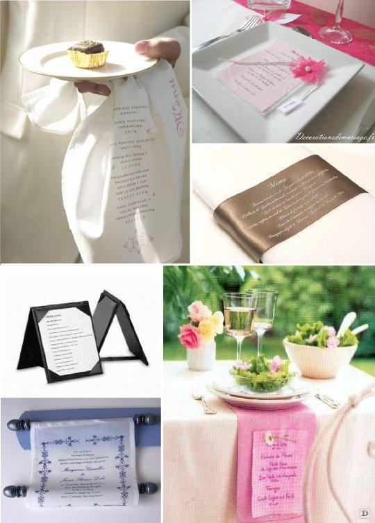 menu mariage faites le plein d 39 id es. Black Bedroom Furniture Sets. Home Design Ideas