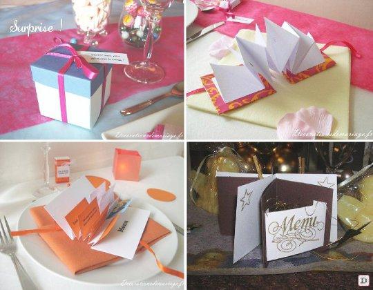 Souvent Menu mariage : Faites le plein d'idées NP53