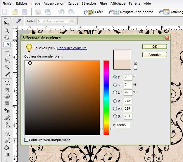 creation realisation menu mariage photoshop éléments tutoriel mode d'emploi fiche technique