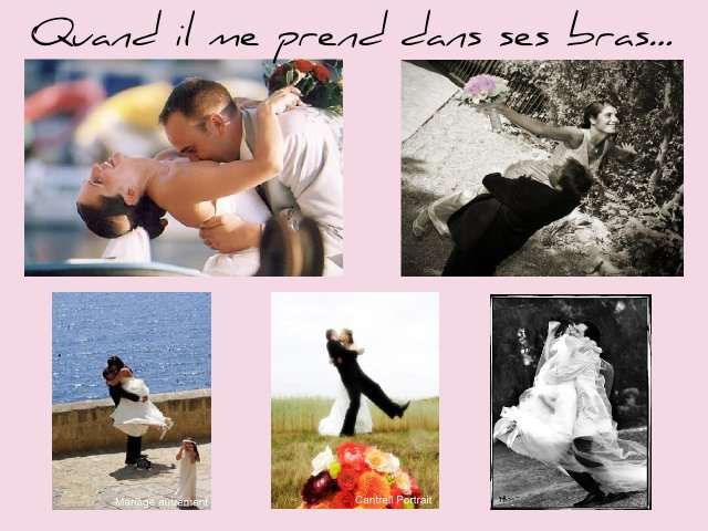 Pose pour photo mariage - Pose original pour photo ...