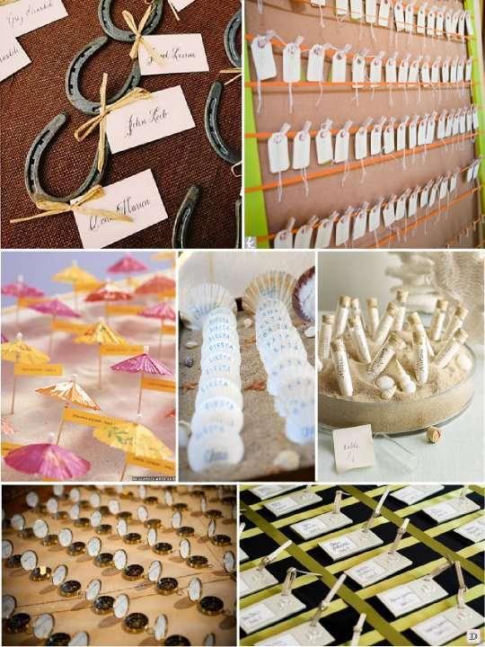 Plan de table mariage 1001 id es voir - Decoration table pour invites ...