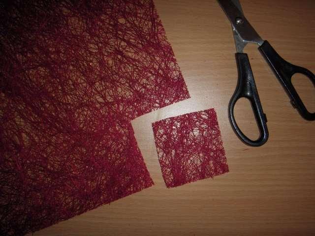 realisation faire part invitation automne fibres de sisal