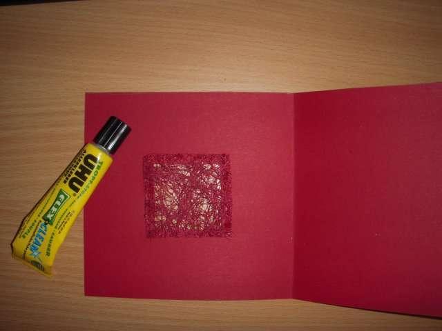 realisation faire part invitation automne feuille de sisal bricolage
