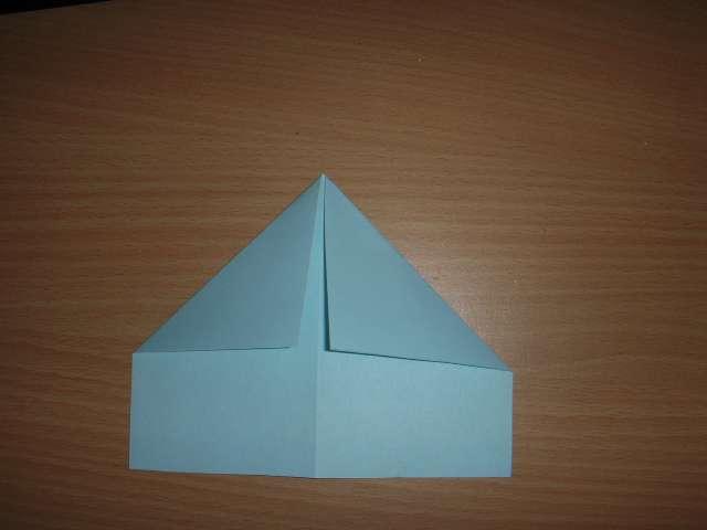 réalisation marque place avion en papier pliage thème voyage