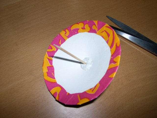 réalisation marque place  ombrelle  loisirs créatifs bricolage faire soi même cure dent