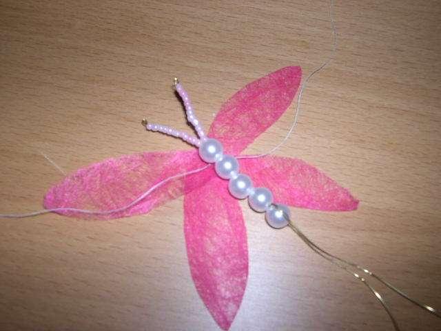 réalisation marque place libellule  bricolage faire soi même