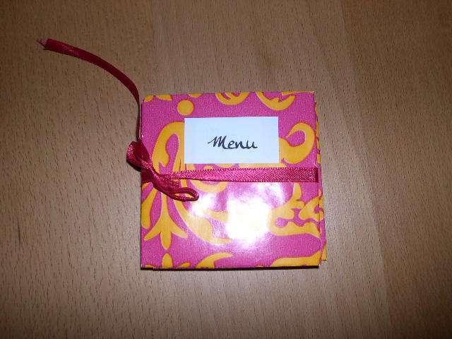 création  réalisation menu mariage accordéon thème asie zen japon chinois  explication mode d'emploi tutoriel fiche technique loisirs créatifs bricolage faire soi même original scrapbooking pliage papier origami scrapbooking album