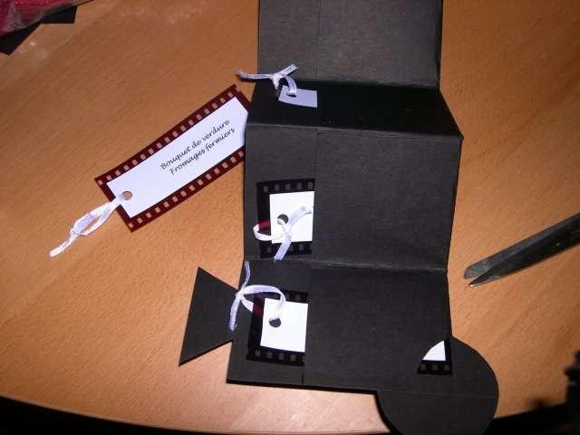 réalisation menu mariage caméra  cinéma  tutoriel fiche technique