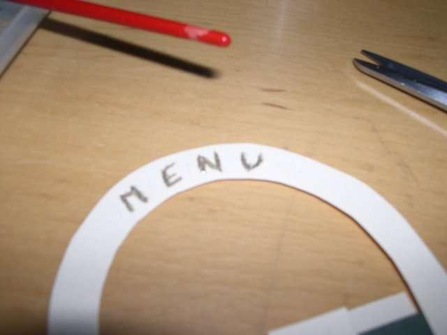 réalisation menu mariage panier en papier tissé champêtre  loisirs créatifs bricolage faire soi même