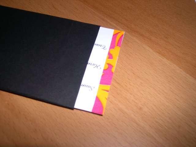 création menu mariage piano musique explication mode d'emploi scrapbooking carte surprise
