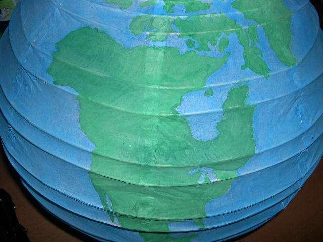réalisation urne globe  explication mode d'emploi