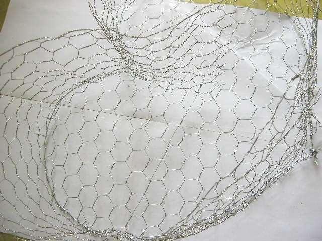 création  réalisation urne coeur en grillage thème champêtre nature papilloni tutoriel fiche technique