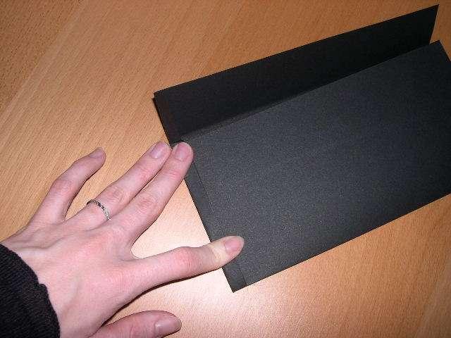 réalisation modèle exemple faire part invitation mariage thème cinéma loisirs créatifs bricolage faire soi même pochette pellicule film noir rouge papier calque