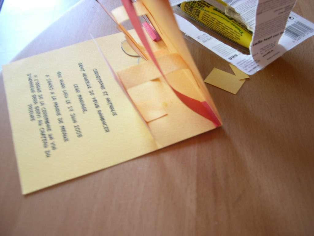 réalisation  faire part invitation mariage  walt disney mickey carte pop up