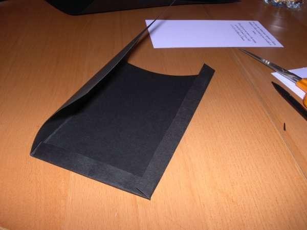 réalisation modèle exemple faire part invitation mariage thème musique piano loisirs créatifs bricolage faire soi même pochette noir et fucsia touches clavier scrapbooking carte origami