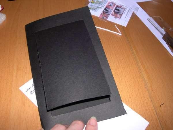 réalisation modèle exemple faire part invitation mariage thème musique piano explication mode d'emploi tutoriel fiche technique loisirs créatifs bricolage faire soi même pochette noir et fucsia touches clavier scrapbooking carte origami