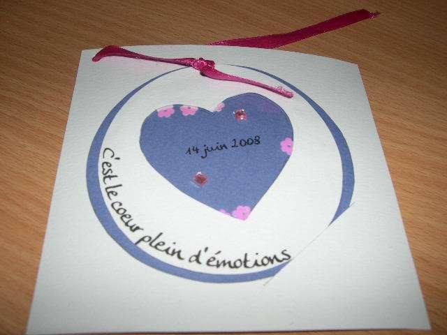 réalisation  faire part invitation mariage thème surprise tutoriel fiche technique  shaker box scrapbooking