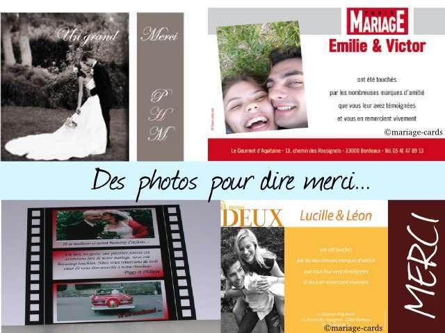 remerciements de mariage photo une de magazine pellicule photo cinma - Remerciement Mariage Personne Absente