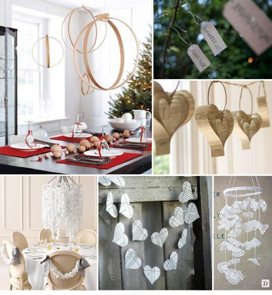 Idees decoration salle mariage for Decoration fenetre en papier