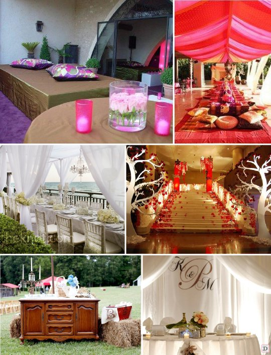 Idees decoration salle mariage - Decoration en carton ...