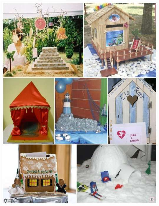 urne mariage habitat tente paillotte cabine plage pyramide phare