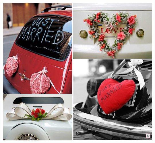 Decoration Mariage Voiture Coeur : Idee decoration voiture mariage à découvrir