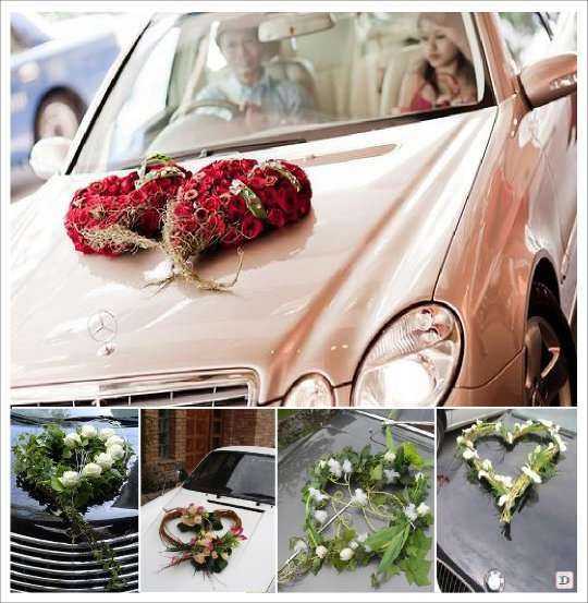 Id es decoration voiture mariage - Decoration voiture de mariage ...