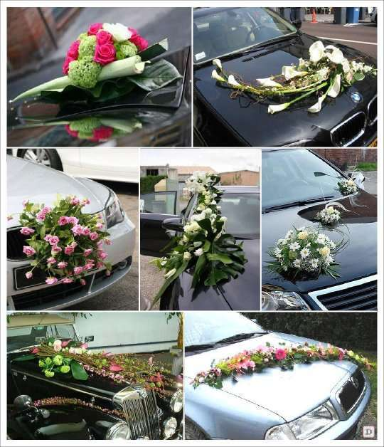 Anime for Decoration voiture mariage