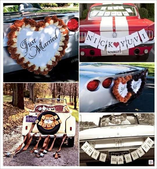 Préférence idées decoration voiture mariage TC73