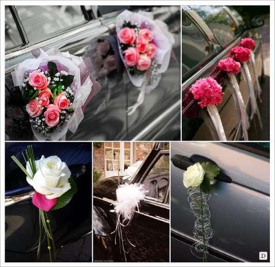 decoration_voiture_mariage_poignee_rose_bouquet