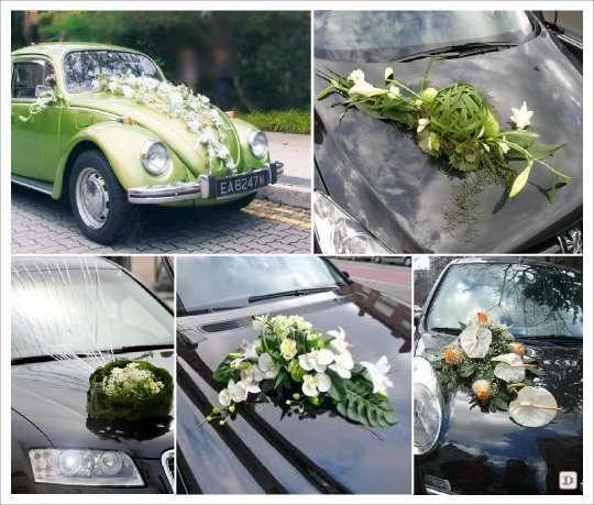 decoration voiture mariage coccinelle. Black Bedroom Furniture Sets. Home Design Ideas