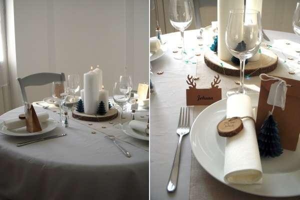 decoration-table-noel-bois-nature-rondin
