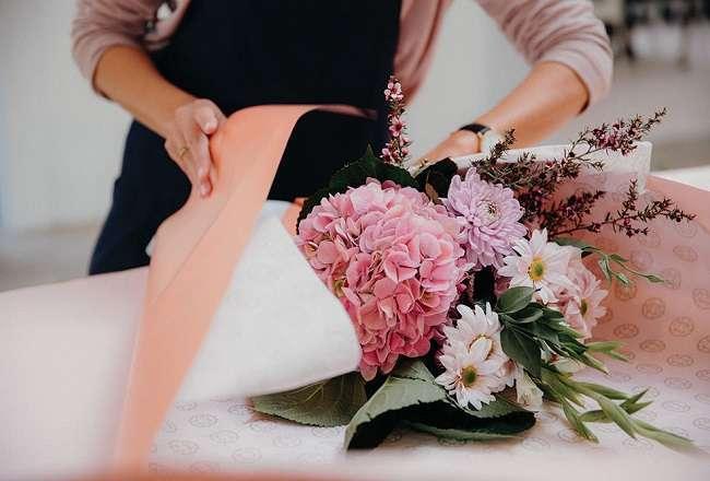 animation anniversaire adulte art floral