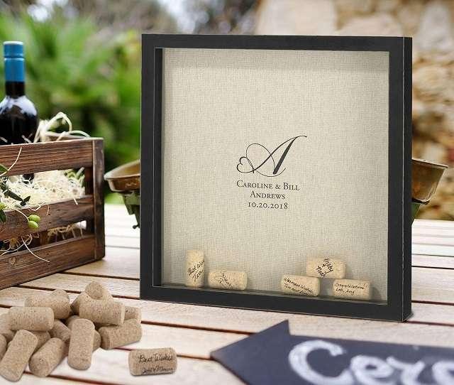 cadre livre d'or bouchons de liege theme vin