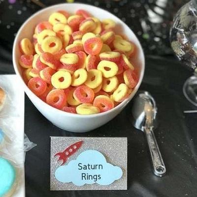 bonbons anneaux de saturne canby bar astronaute