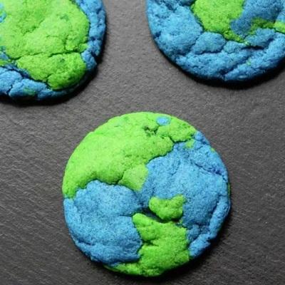 cookies planète candy bar theme espace astronaute