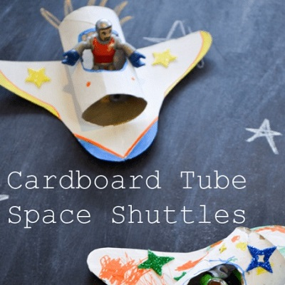 diy fusée bricolage anniversaire astronaute