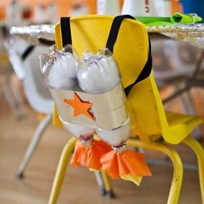 animation anniversaire astronaute bouteille oxygene