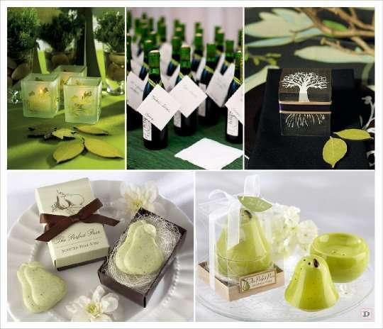 mariage automne cadeaux invités savon poire saliere poire photophore bouteille cidre boite dragees bois
