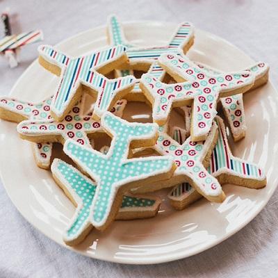 cookies avion candy bar theme aviateur