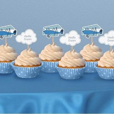 cupcake theme avion candy bar