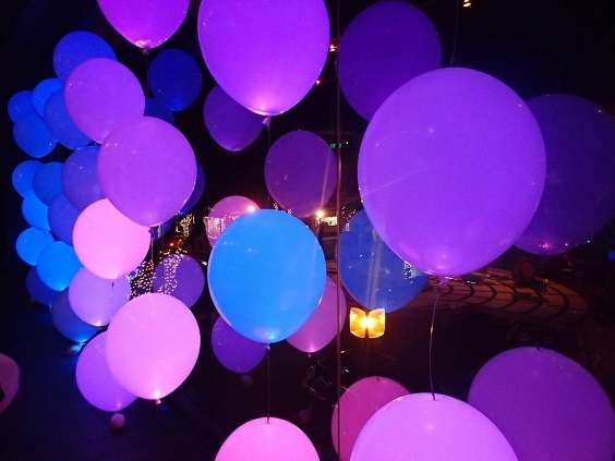 ballon lumineux led mariage