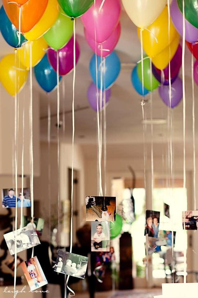 decoration ballon livre d'or photos