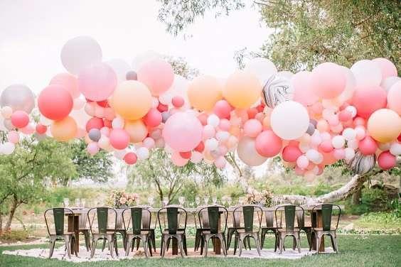 decoration mariage arche de ballons
