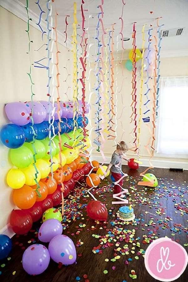 decoration salle mariage mur de ballons