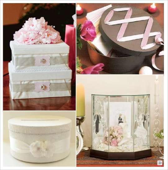 urne mariage baroque boite ronde lacage coffre verre gravé