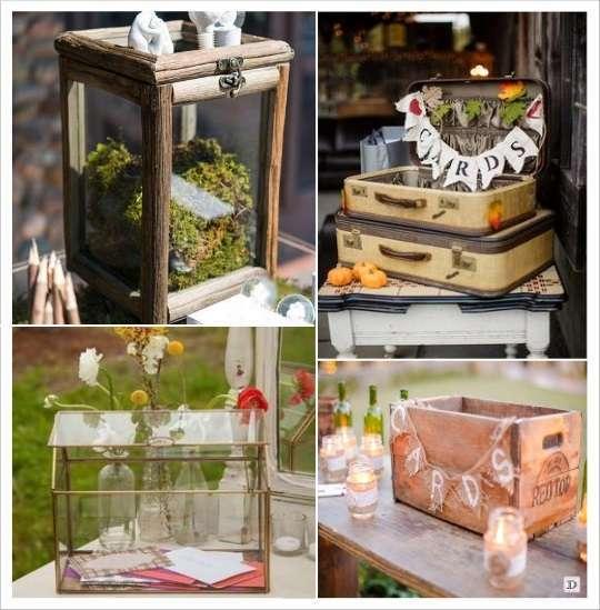 Decoration mariage boheme 1001 id es voir - Decoration caisse en bois ...