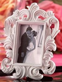 cadre blanc photo cadeau invité